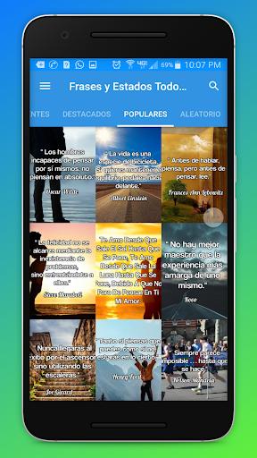 Frases y Estados Para Todo Momento Con Imágenes Screenshot 1