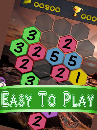 Get To 7, merge puzzle game - tournament edition.  screenshots 14