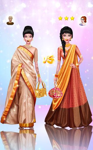 Wedding Fashion Stylist: Indian Dress up & Makeup 1.0 screenshots 21