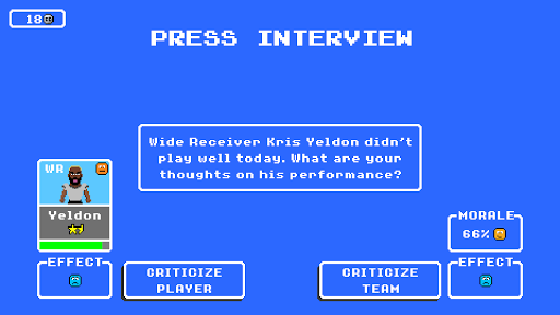 Retro Bowl screenshots 4