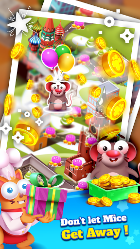 Kitten Games - Bubble Shooter Cooking Game apkmr screenshots 7