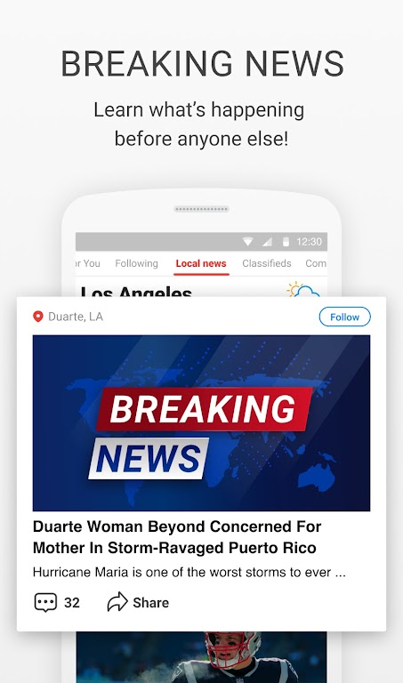 News Break: Local Breaking Stories & US Headlines  poster 1