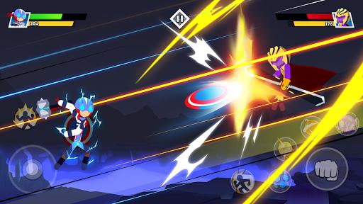 Stickman Combat - Superhero Fighter apktram screenshots 2
