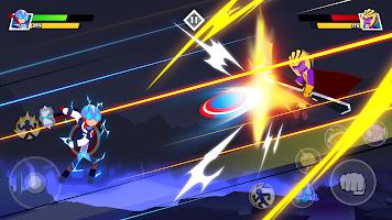 Stickman Combat - Superhero Fighter