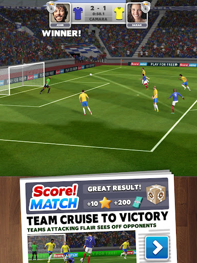 Score! Match - PvP Soccer apktram screenshots 6