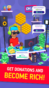 Idle Streamer - Tuber game. Get followers tycoon apk