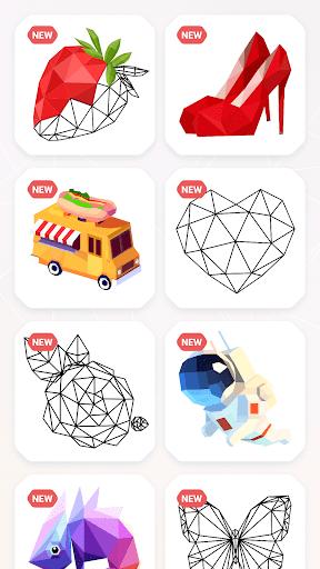 inPoly u2013 Poly Art Puzzle 1.0.21 screenshots 18