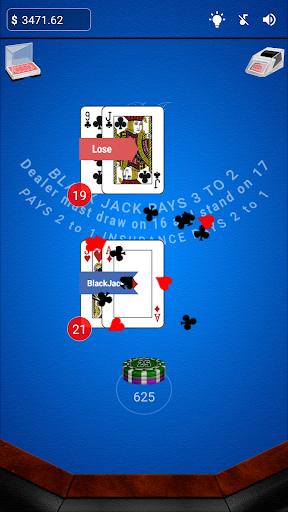 black jack screenshot 1