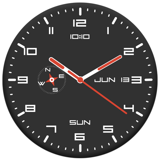 Dell'orologio Live Wallpaper E