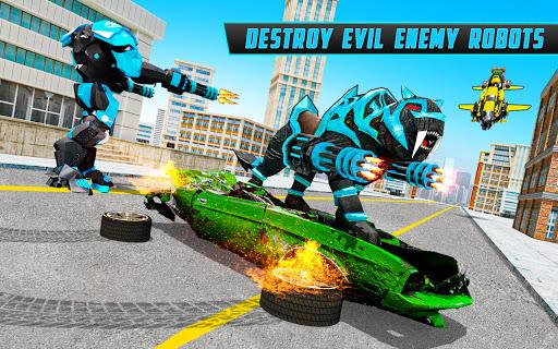 Panther Robot Transform Games screenshots 8