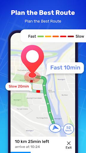 GPS Route Finder - GPS Location, Map Navigation apktram screenshots 1
