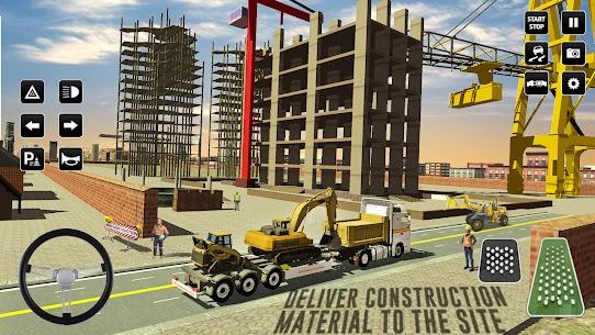 Kent İnşaat Simülatör: Forklift Kamyon Oyun Full Apk İndir 2