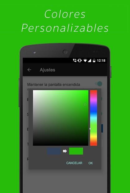 Screenshot 6 de Cronómetro Simple para android