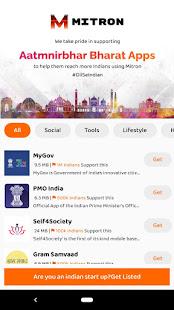 Atmanirbhar Apps by Mitron