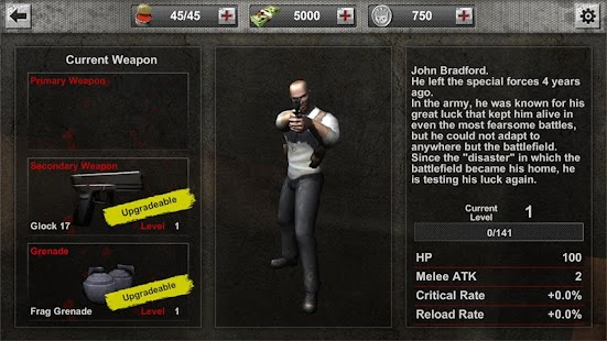 Zombie Hunter Frontier Screenshot