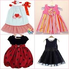 かわいい赤ちゃんの女の子のドレスのデザインのおすすめ画像2