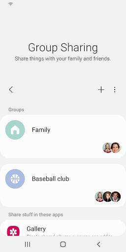 Group Sharing  screenshots 1