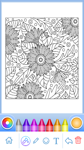Coloring Book for Adults screenshots 2