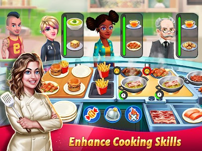Tasty Cooking Cafe & Restaurant Game: Star Chef 2 20