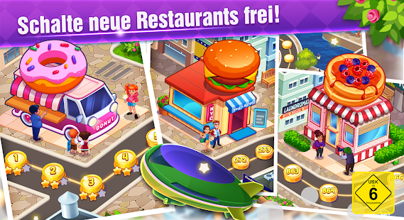 Cooking Family :Craze Madness Restaurant Food Game Screenshot