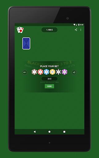 Blackjack - Free & Offline 1.7.1 Screenshots 13