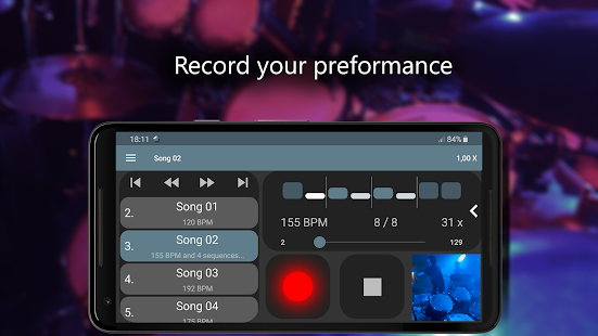 Camtronome - Best Music Metronome & Tap the Beat