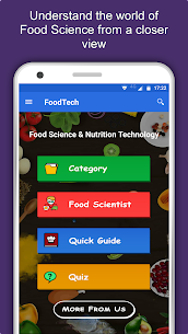 Food Science & Nutrition Technology – Food Tech 1.0.3 Apk + Mod 1