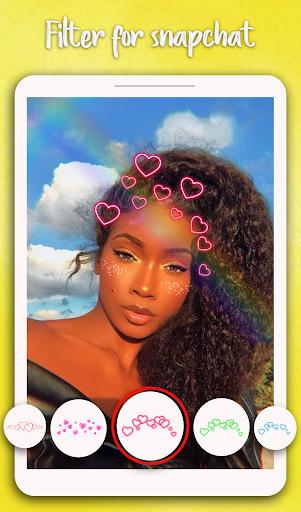 Filter for Snapchat - Sweet Snap Camera 1.0 Screenshots 5