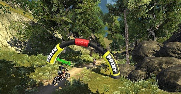 MTB DownHill: Multiplayer Screenshot
