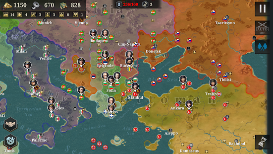 European War 6:1914 - WW1 Strategy Game Screenshot