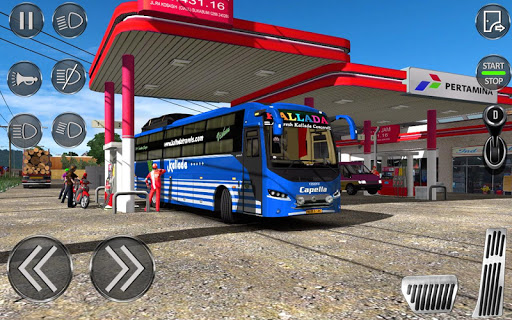 City Coach Bus Driving Sim : Bus Games 2020 0.2 Screenshots 15