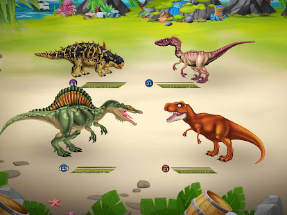 DINO WORLD - Jurassic dinosaur game 12.50 Screenshots 8