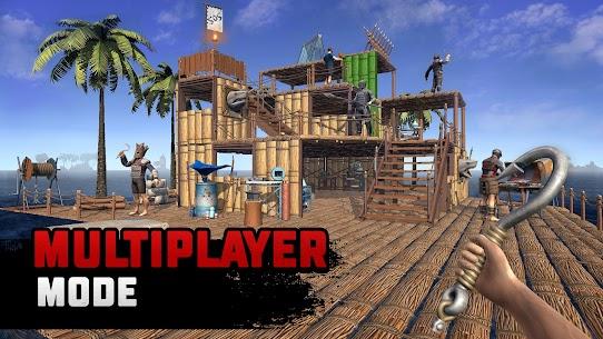 Raft Survival Multiplayer Mod Apk 1 2