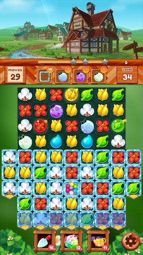 Garden Dream Life: Flower Match 3 Puzzle Apkfinish screenshots 21