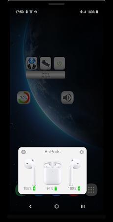 Bluetooth Music  Widget Battery TWS Pods FREEのおすすめ画像2