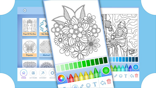 Coloring Book for Adults screenshots 7