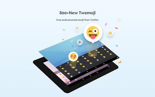 GO Keyboard Lite - Emoji keyboard, Free Theme, GIF 3.23 Screenshots 9