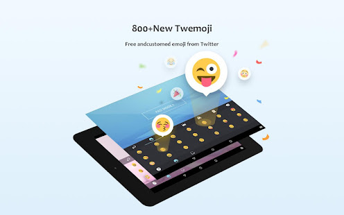 GO Keyboard Lite - Emoji keyboard, Free Theme, GIF 3.25 Screenshots 14