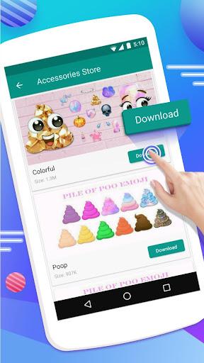 Emoji Maker- Free Personal Animated Phone Emojis apktram screenshots 5