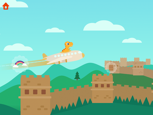 Dinosaur Plane - Plane piloting game for kids 1.1.0 screenshots 10