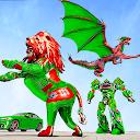 ドラゴンロボットカーゲーム–ロボット変身ゲーム