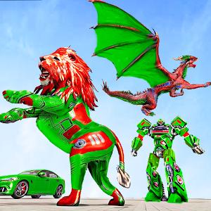 Dragon Robot Car Game  Robot transforming games