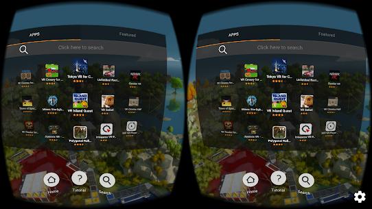 FD VR – Virtual App Launcher 1