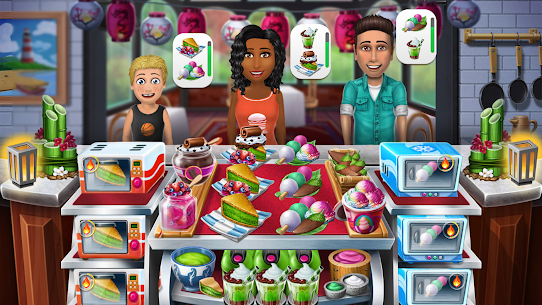 Virtual Families: Cook Off Mod Apk (Unlimited Chef Hats/Lives) 4