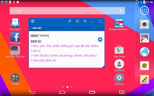 Dich tieng Anh - Tu dien Anh Viet TFlat 7.9.1 Screenshots 11