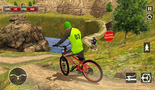 BMX Offroad Bicycle rider Superhero stunts racing screenshots 11