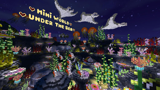 Télécharger Gratuit Mini World: Block Art APK MOD (Astuce) screenshots 2