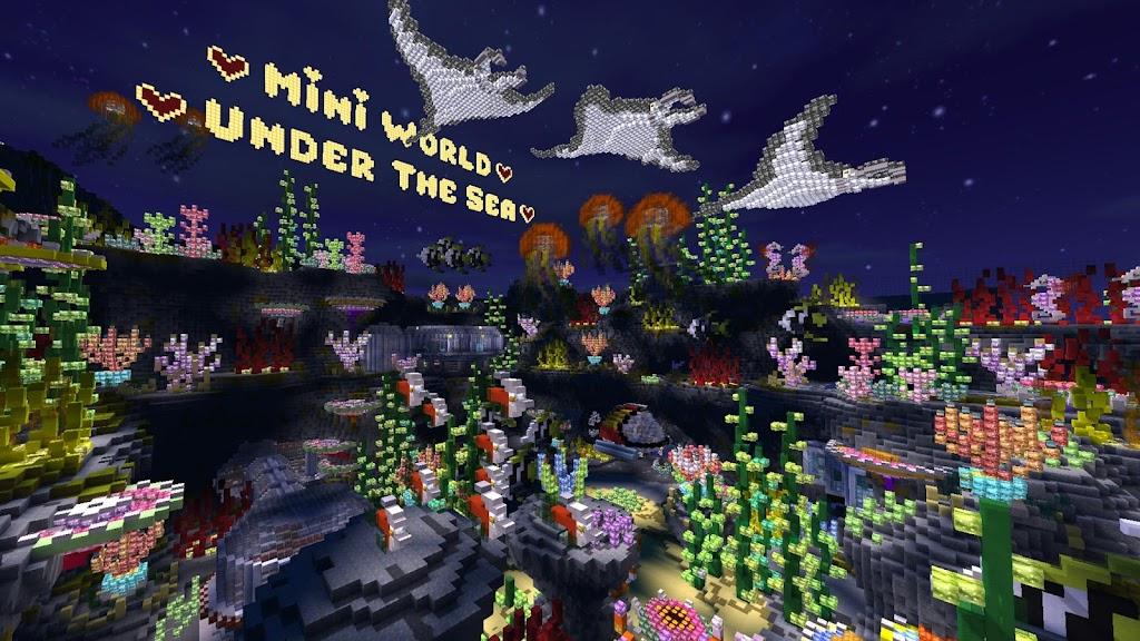 Mini World: Block Art  poster 1
