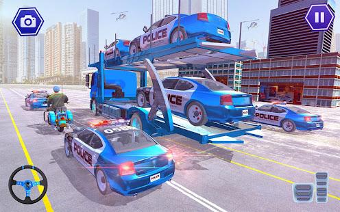 Police Plane Transport: Cruise Transport Games 1.12 Screenshots 5