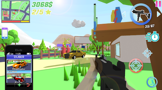 Dude Theft Wars: Open World Sandbox Simulator BETA Screenshot